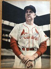 Baseball Hall of Famer Enos Slaughter Autographed Photo