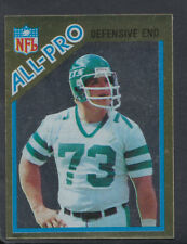 TOPPS 1982 Football Americano Adesivo N. 146-Joe klecko-difensiva fine (T127)