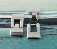 5Pairs Tibetan silver Hook Clasp for14x3mm Leather cord
