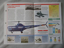 Aircraft of the World Card 82 , Group 3 - Sikorsky S-51/R-5