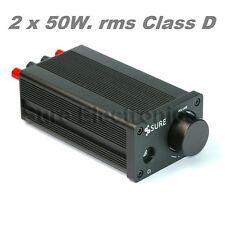 SURE 2 X 50 Watt RMS Amplificatore Class D HI-FI - TDA7492,  AUDIOPHILE STYLE