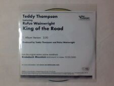 TEDDY THOMPSON feat. RUFUS WAINWRIGHT King of the road cd singolo PR0M0
