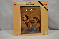 "Giant 12"" Laserdisc LD 1956 Warner Bros 11414LV Taylor Hudson Dean"