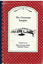 *CARROLLTON TX 1989 HOLY COVENANT METHODIST CHURCH COOK BOOK *SAMPLER *VINTAGE