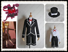 Vocaloid Kagamine Bad End Night Len Uniform Cosplay Costume With Hat Custom