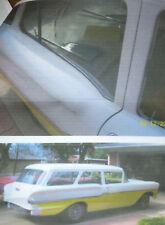 1958 CHEVY YEOMAN 2 DOOR WAGON WINDOW BELTLINE WEATHERSTRIP KIT (8 PIECES)