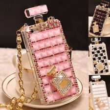 Bling Sparkle Diamonds Perfume Bottle Case For iPhone 12 11 Pro Max XS XR 7 8 +
