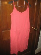 NWT Columbia Women's Aria Dress Coral Bloom Stripe Large
