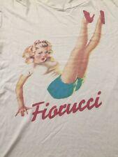 New listing Vintage and Rare Fiorucci t shirt, 80s, Italian, Pop Culture, fashion