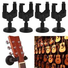 4PCS/SET Guitar Wall Mount Hanger Music Instrument Wall Mount Stand Rack Bracke
