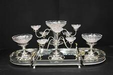 English Sheffield Silver Plate Centrepiece Bowl Dish Epergne