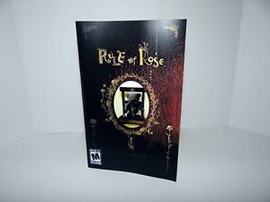 Rule of Rose Playstation 2 Replacement Manual