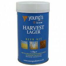 Youngs Harvest Homebrew Beer Kit  Bargain pack of 5. Choose your favourite ales