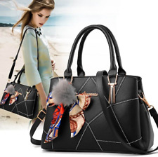Women Leather Handbags Lady Crossbody Bag Tote Messenger Ladies Shoulder Purse