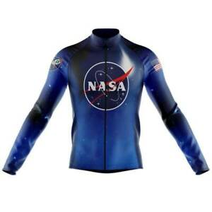 NASA Cycling Jersey Long Sleeve