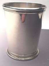 Julep Cup Sterling Silver beautiful Beaded Kentucky Derby Style  BRAND NEW