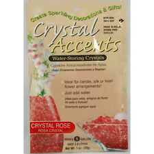 Crystal Accents Rose/Pink Water Storing Gel - Makes approximately 8.5 Pints