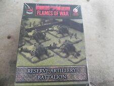 Flames of war   Russian    SBx18   Reserve Artillery Battalion