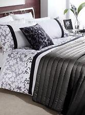 Double Bed Size Duvet Set Sienna Black & White