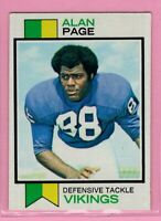 1973 Topps  # 30 Alan Page -- Vikings -- Box 726-415