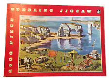 VINTAGE TOWER PRESS 2500 STERLING  JIGSAW PUZZLE - A DAY BY THE SEA