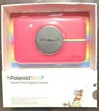 NEW Polaroid Snap 10.0mp Instant Print Digital Camera, Rare Pink Color