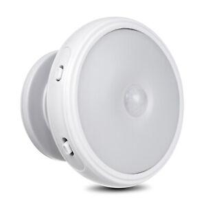 Lampe LED avec détecteur de mouvement Veilleuse à piles Capteur PIR Auto On/Off