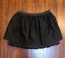 ARDEN B Black Urban Mod CHIC sz XS SEXY ULTRA Puff Ruffle Layered Mini Skirt
