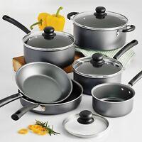Tramontina PrimaWare 10 Piece Nonstick Cookware Pots & Pan Set NEW
