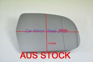 RIGHT DRIVER SIDE MIRROR GLASS FOR AUDI A5 2011 - 2016 (check measurement)