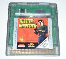 MISSION: IMPOSSIBLE Nintendo Game Boy Color Spiel