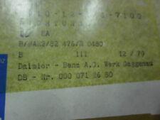 3 X DICHTUNG VERGASERDECKEL MERCEDES 0000712680 / PORSCHE 61610086400 / PIERBURG