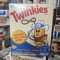 Ad Icons Funko Pop Hostess Twinkies Tee Shirt Combo Target Exclusive Size M