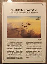 Robert Taylor - Bader's Bus Company - Aviation Art FLYER