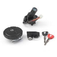 Ignition Switch Seat Gas Cap Cover Lock Key Set for Kawasaki KL110/KLX125/KLX250