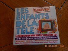 """cd Les enfants de la télé """"LA compilation"""" 120 titres NEUF"""