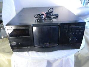 JVC XL-MC222 CD Compact 200 Disc Changer Player Jukebox *Tested Works* No Remote