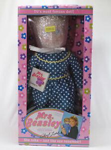 Vintage Mrs Beasley Talking Doll by Ashton Drake Cheryl Ladd Voice 20in 2000 New