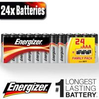 24x Energizer Alkaline Power Plus AAA Batteries LR03 MN2400 Battery Long Expiry