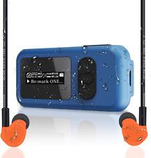 Waterproof Mp3 Player 16Gb Ip68 Screen Rotatable Clip Usb Port Fm Radio Function