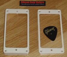 Gibson Les Paul Pickup Rings Humbucker Creme Guitar Parts SG V HP ES R9 EDS R8 U