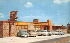Winslow Arkansas Burns Gables Street View Vintage Postcard K47176