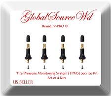 Set 4 xTire Pressure Monitoring System (TPMS) Service Kit Fits: Fiat Ford Subaru