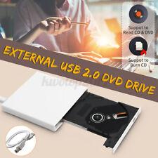 B 2.0 External Slim DVD Combo CD-RW Burner Drive CD±RW DVD for PC Laptop