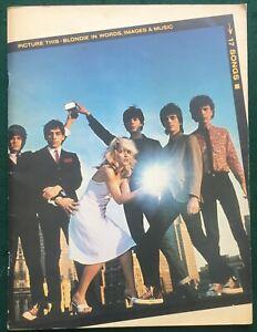 BLONDIE Picture This UK EMI 1979 Songbook with lyrics, bios & photos