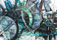 """Albert FLORES 51 Original CUBAN Fine ART Painting CUBA Latin 19x27"""""""