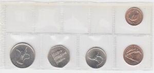 Vereinigte Arabische Emirate  KMS  lose   -  5 Münzen  bankfrisch