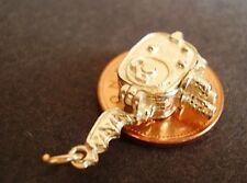 BEAUTIFUL 9CT GOLD OPENING ' MOVIE CINE CAMERA' CHARM