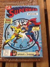 Rare Superman Poche 1982 Numéro 62  63 Mensuel