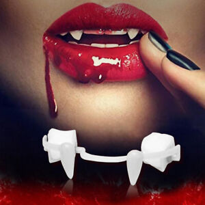 Halloween Party Cosplay Fangs Retractable Teeth Make up Horrific Fangs Vampire
